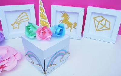 Idées de cadeaux invités pour un anniversaire licorne
