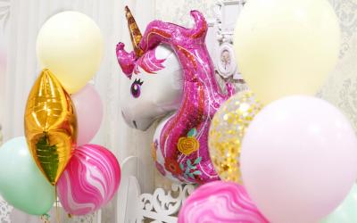 Quelle décoration pour un anniversaire licorne?