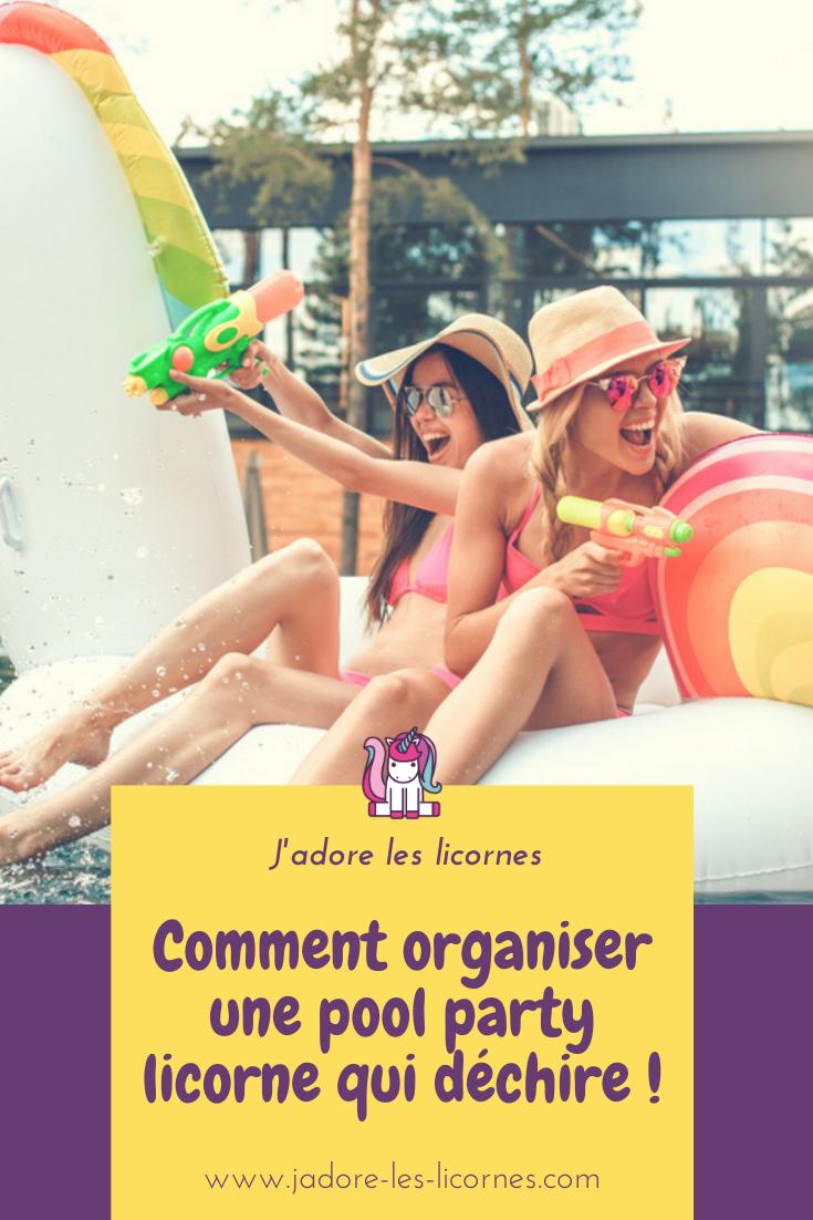 Tu cherches de l'inspiration pour la pool party licorne que tu organises? Voici tout ce que tu dois savoir pour amuser tes invités autour de ta piscine !