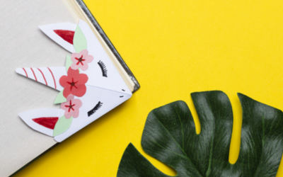 Faire un marque-page kawaii en origami licorne | le tuto facile