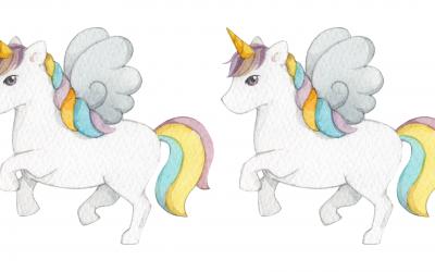 Dessiner une licorne : tuto facile tête de licorne plus licorne entière
